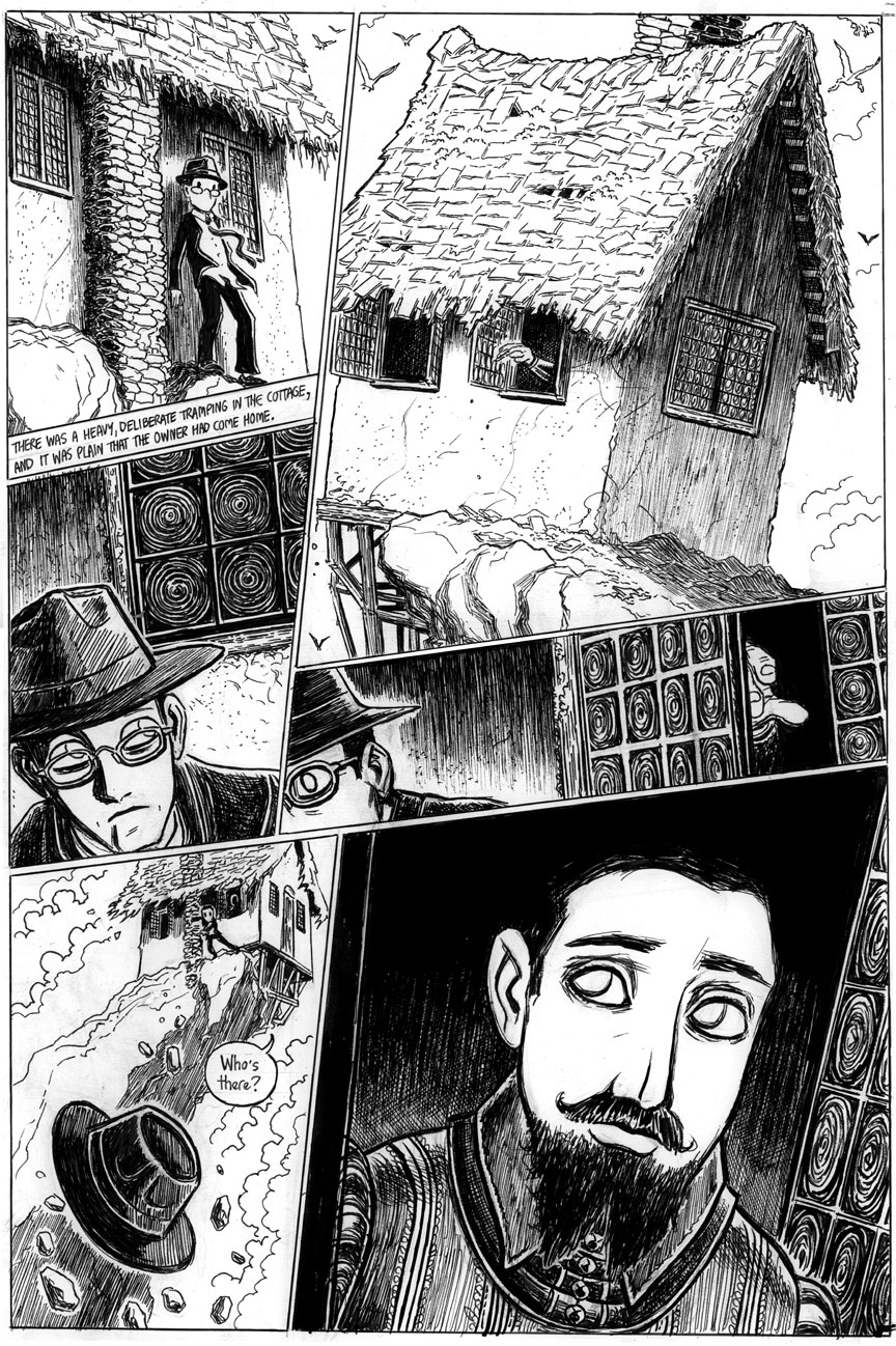 The Strange High House in the Mist, Page 9
