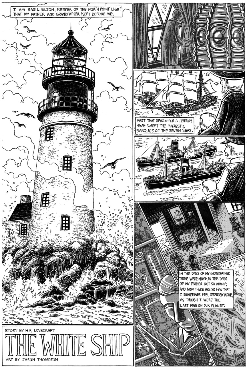 The White Ship, Page 1