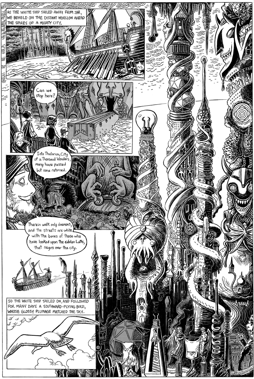 The White Ship, Page 4