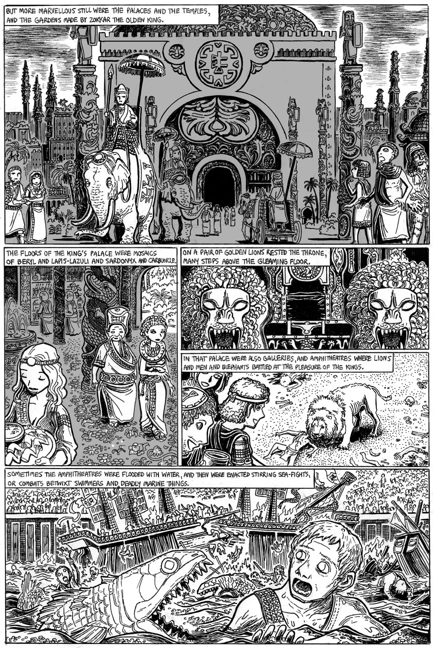 The Doom That Came to Sarnath, Page 8