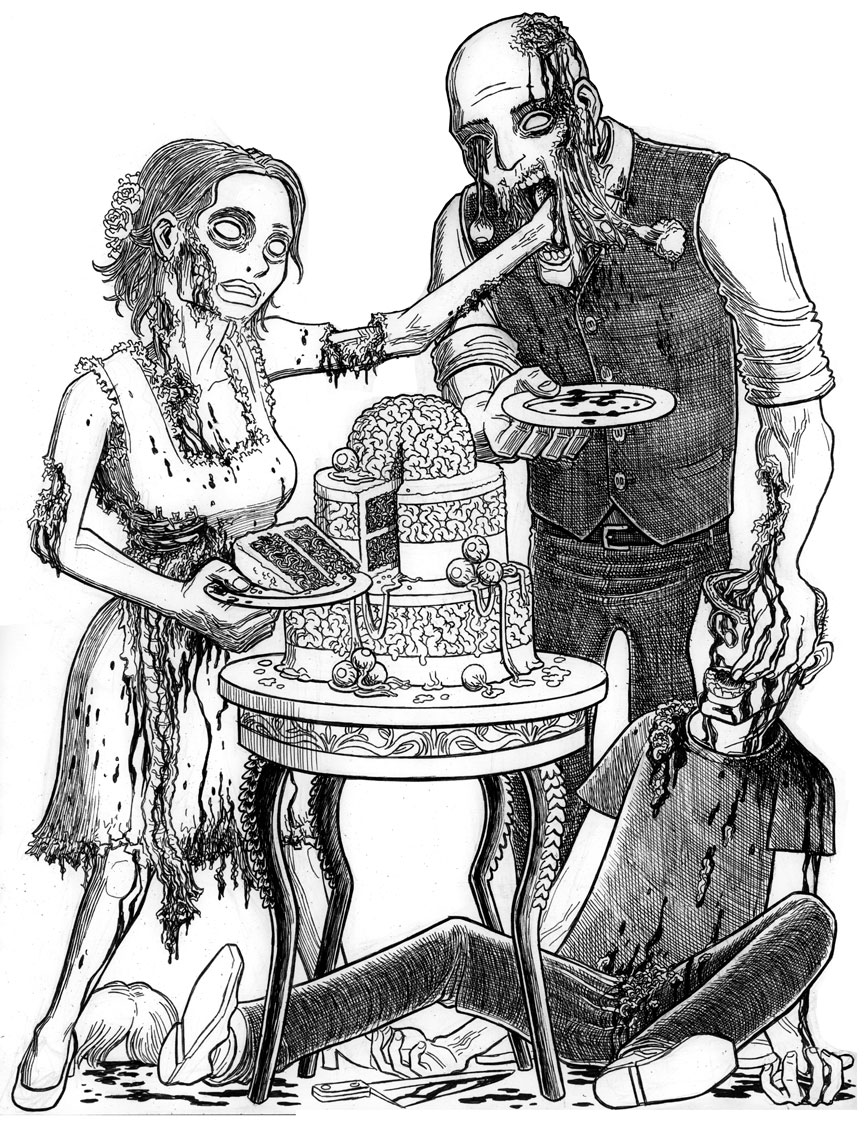 Zombie Honeymoon: Cake