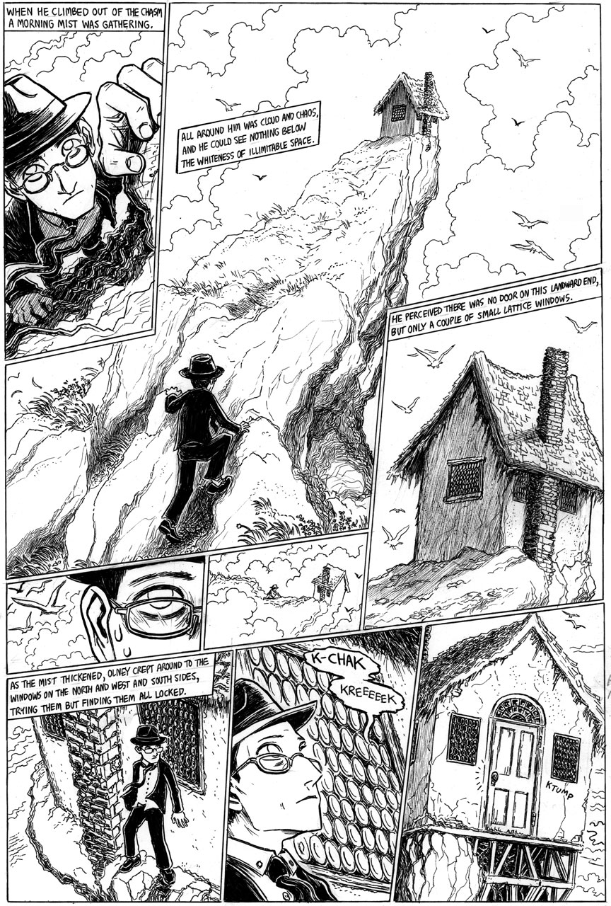 The Strange High House in the Mist, Page 8