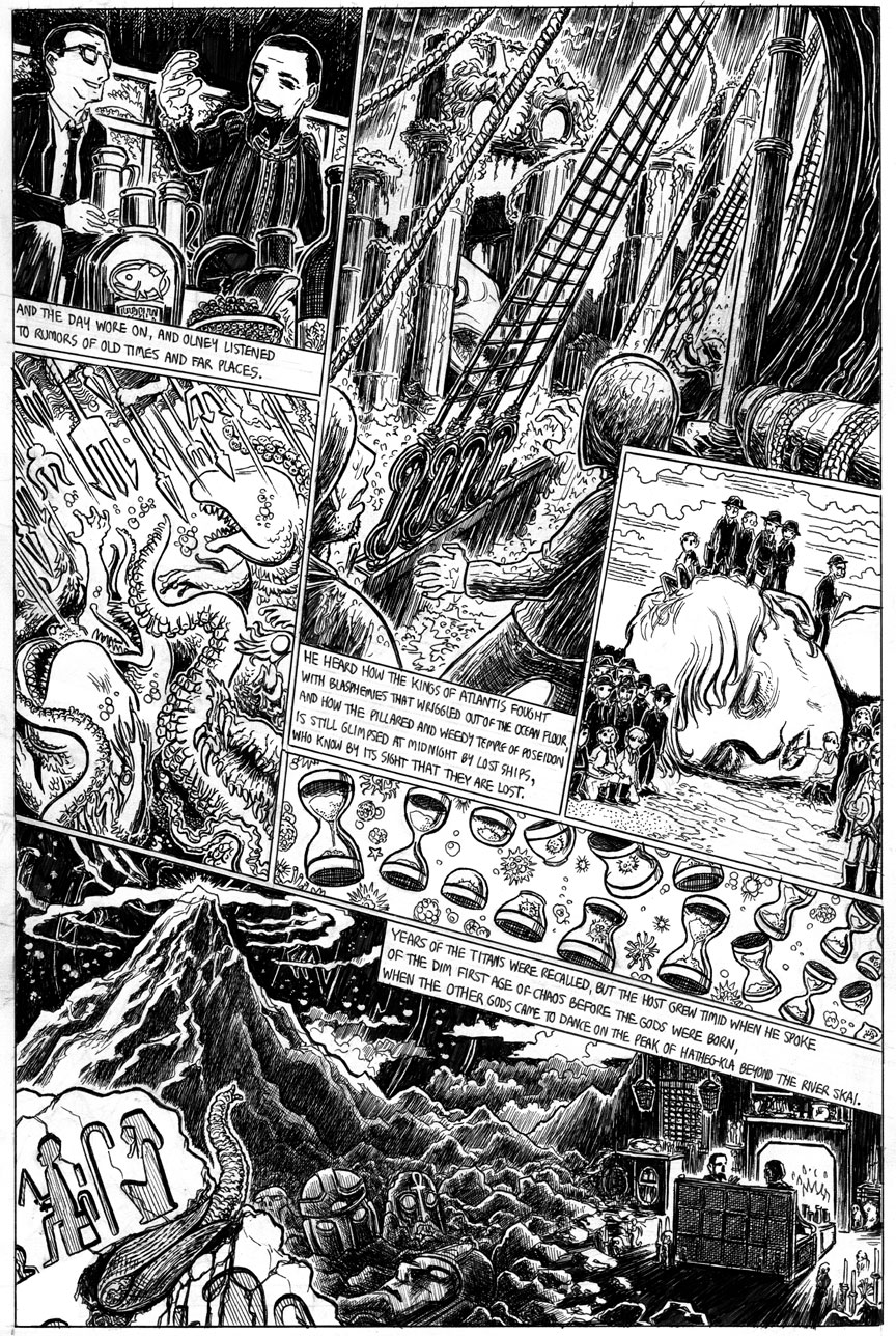 The Strange High House in the Mist, Page 11