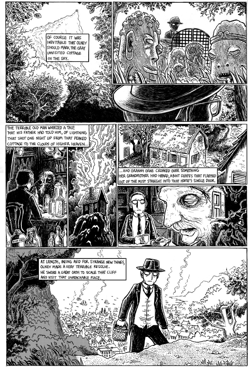 The Strange High House in the Mist, Page 5