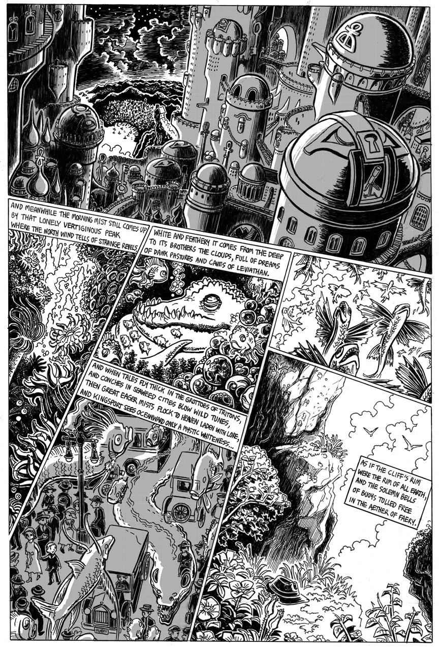 The Strange High House in the Mist, Page 17