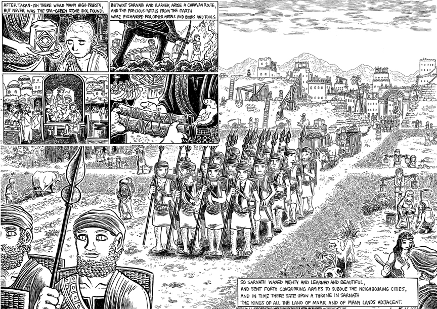 The Doom That Came to Sarnath, Page 6