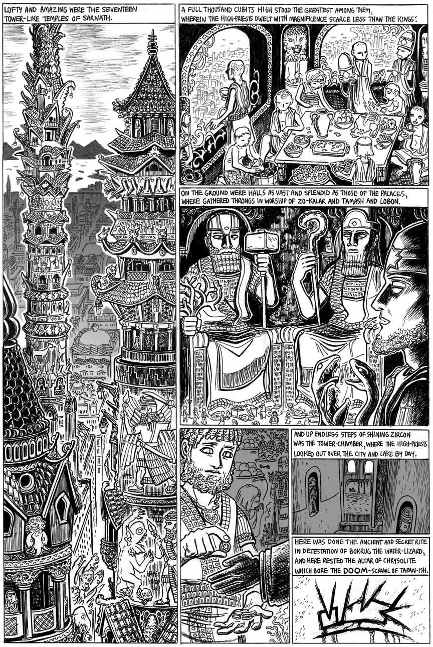 The Doom That Came to Sarnath, Page 9