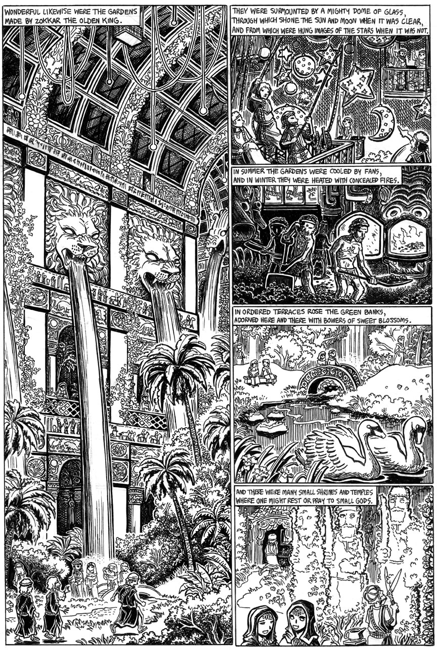 The Doom That Came to Sarnath, Page 10