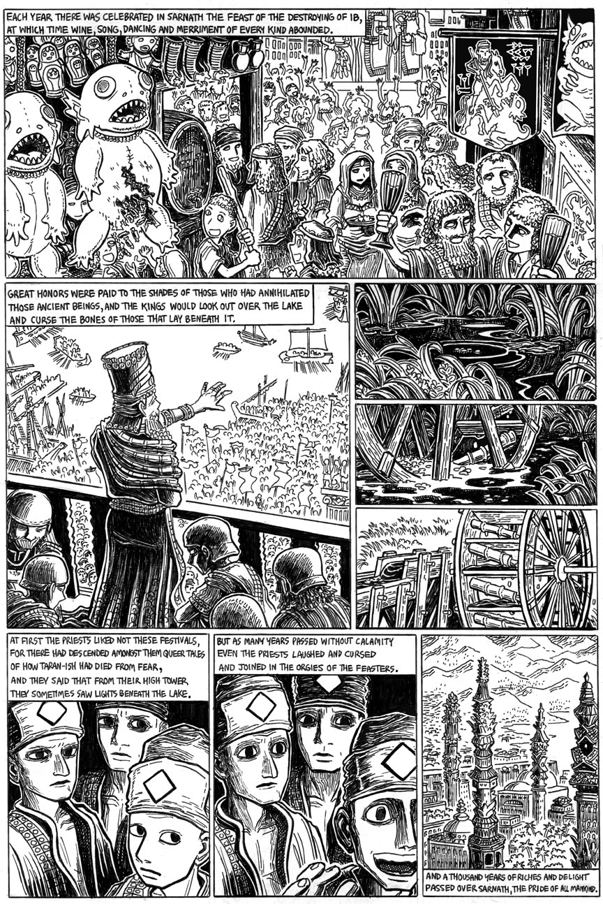 The Doom That Came to Sarnath, Page 11