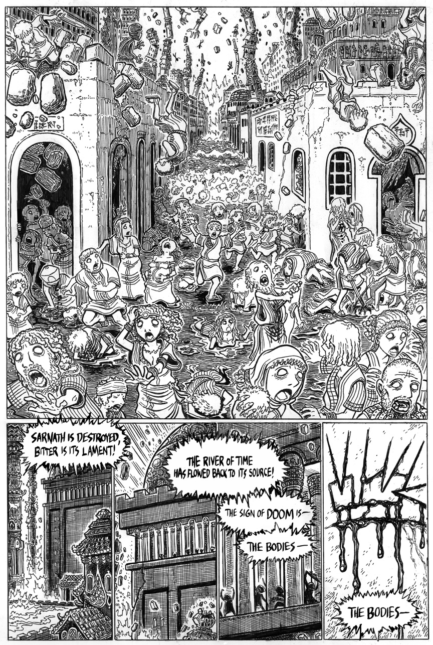 The Doom That Came to Sarnath, Page 17