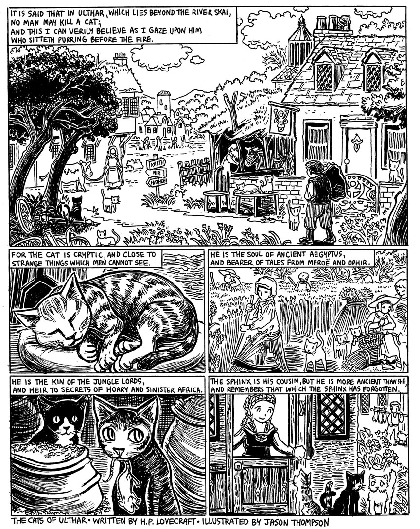The Cats of Ulthar, Page 1