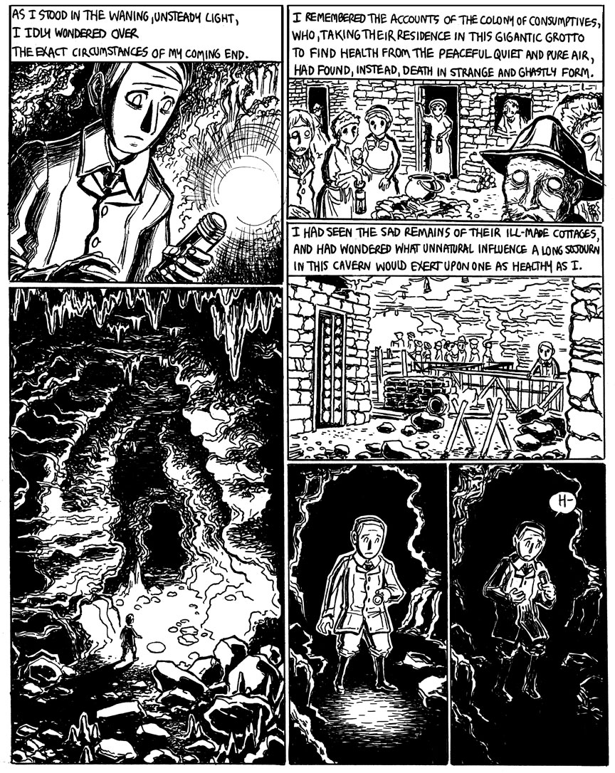 The Beast in the Cave, Page 2