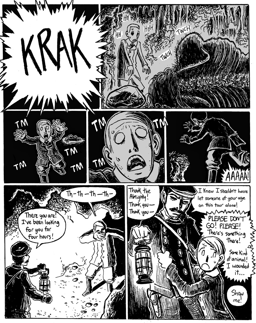 The Beast in the Cave, Page 6