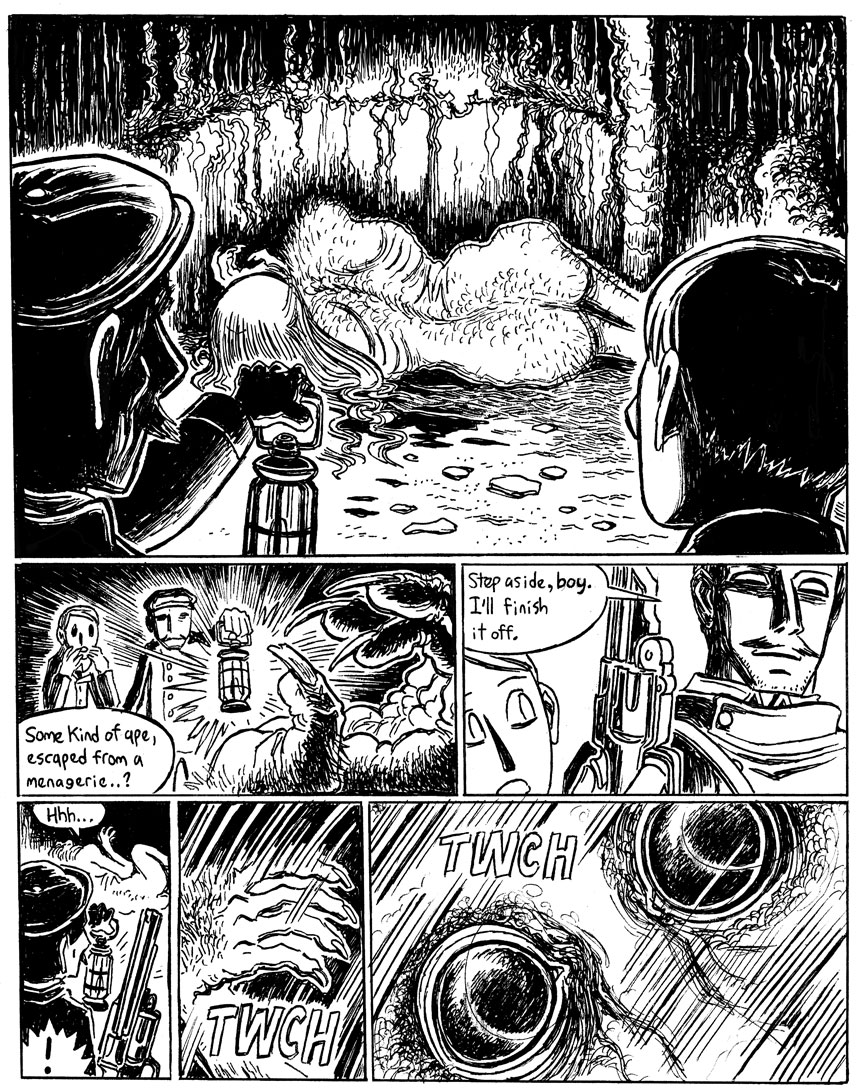 The Beast in the Cave, Page 7