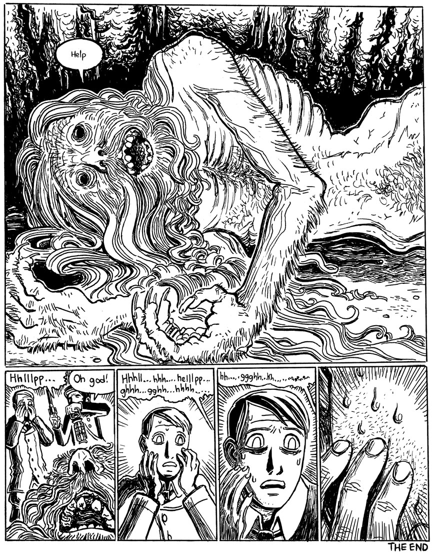 The Beast in the Cave, Page 8