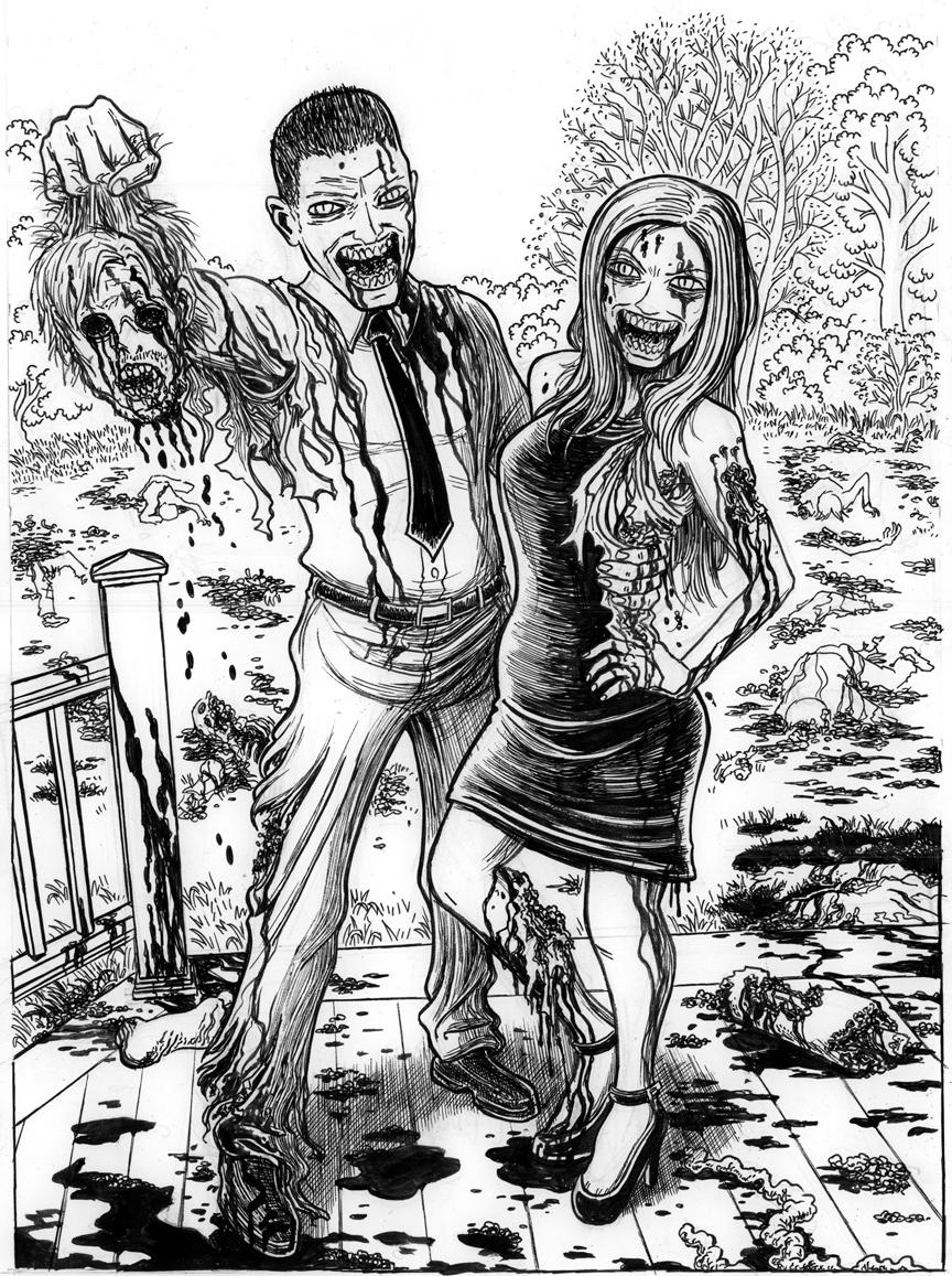Friday Bonus: Zombie Honeymoon (Slaughter)