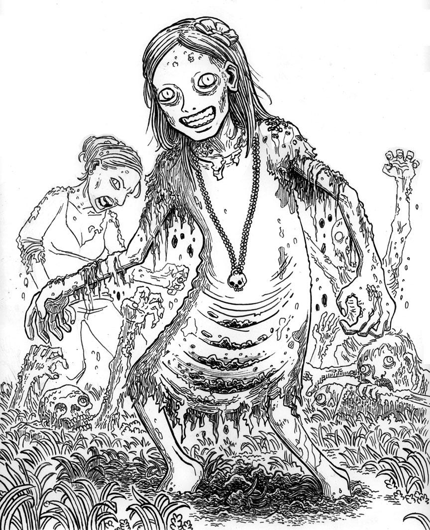 Zombie Portrait: Rise