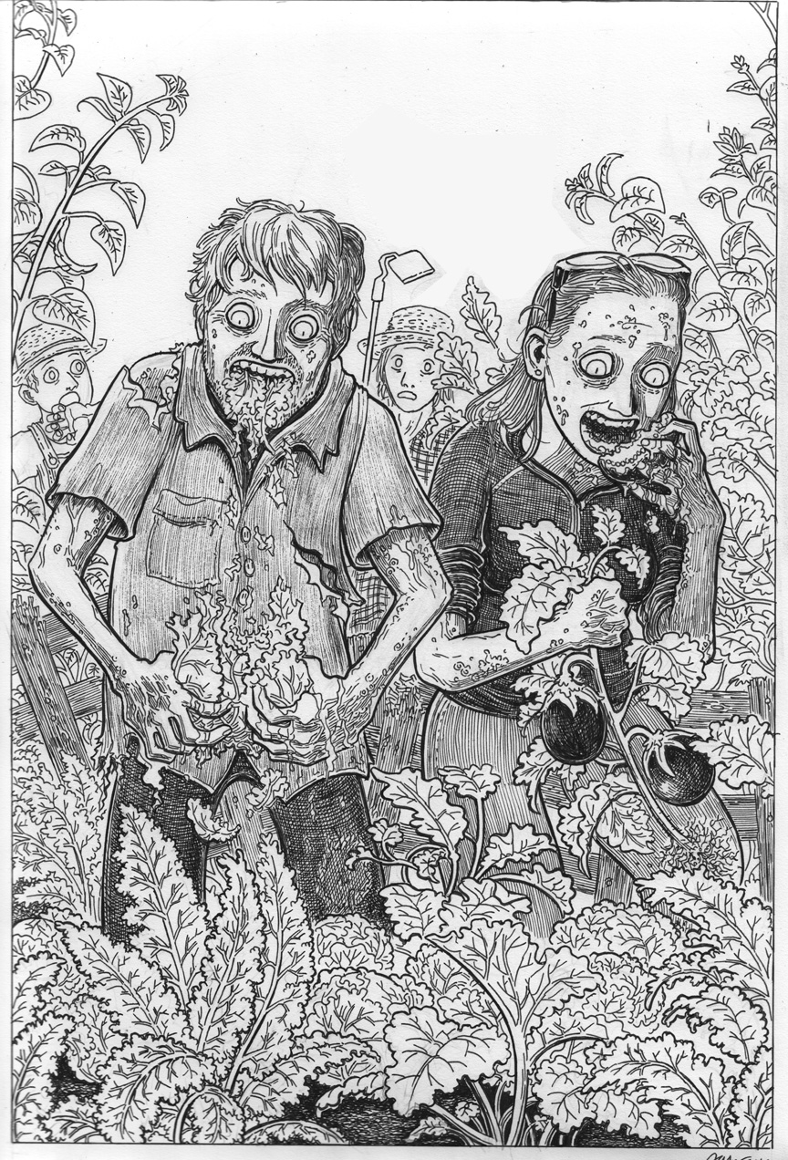 Zombie Honeymoon: Veggie Zombies