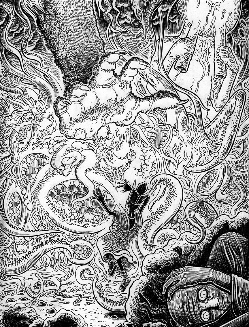 Lovecraftian Sketch: The Other Gods