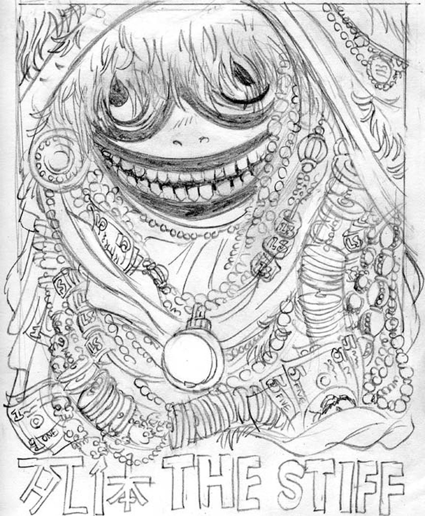 The Stiff: Intermission Art #4