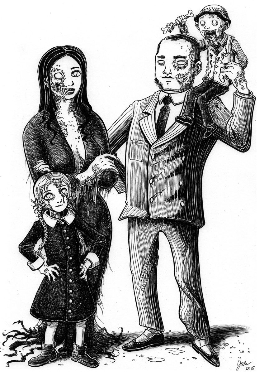 Zombie Honeymoon: Addams Family Tribute